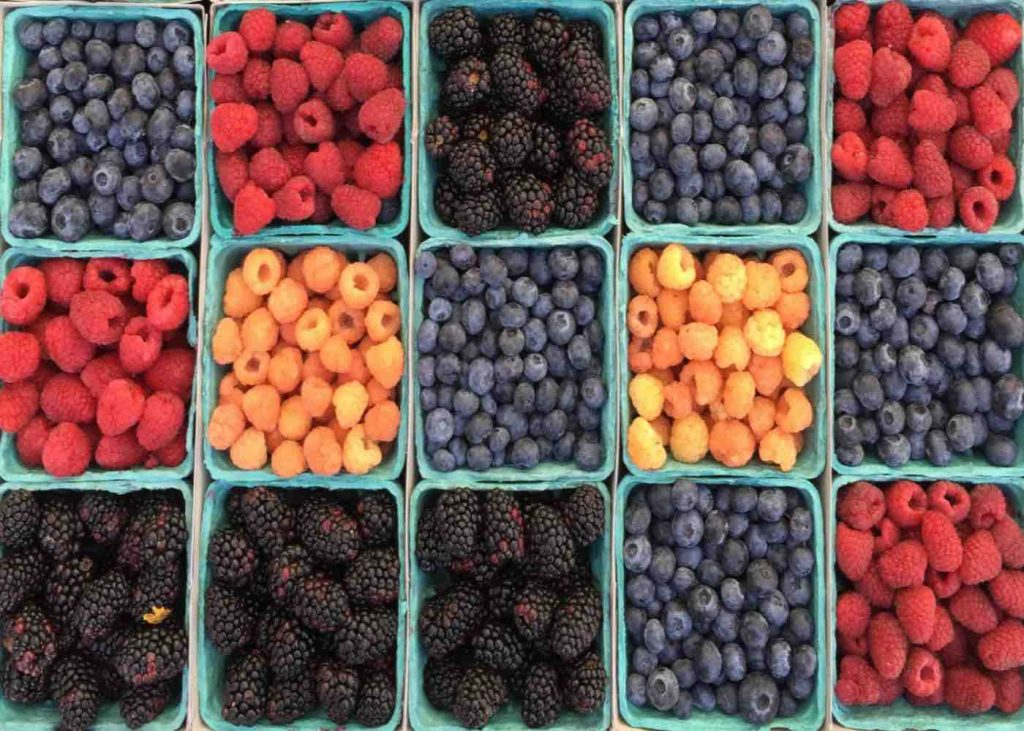 Fruites per una pell suau i radiant